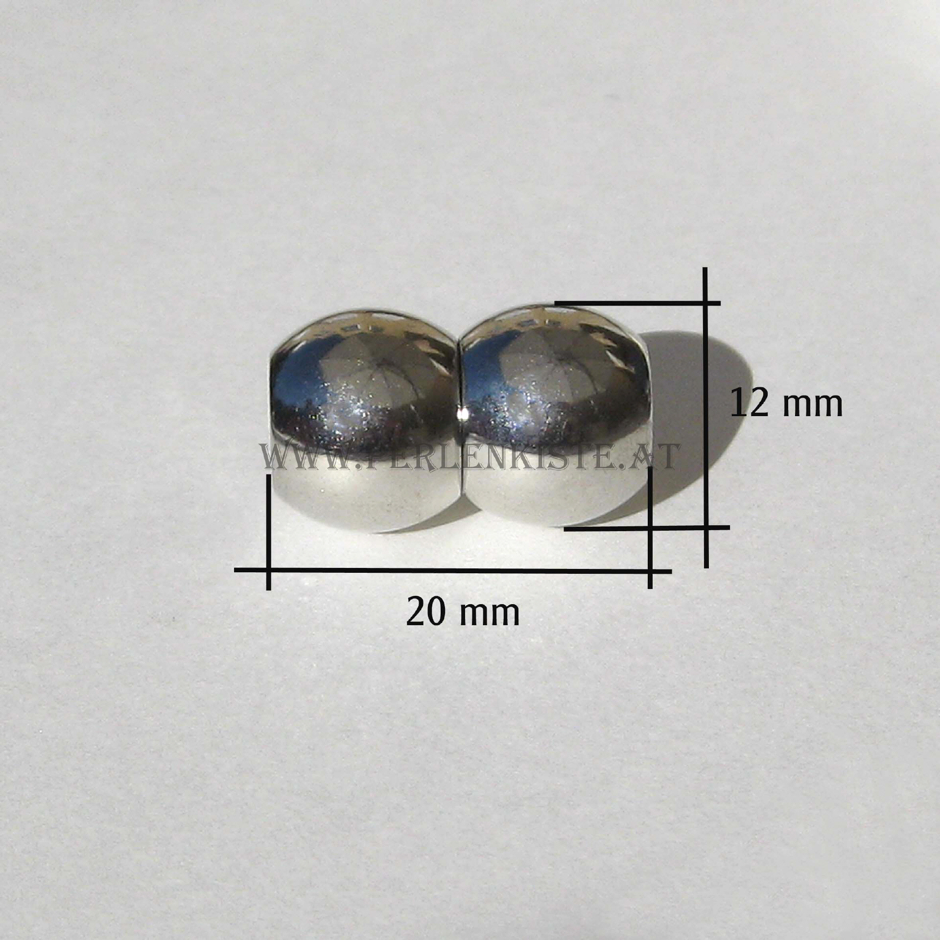 magnetverschluss erdnuss 6 mm zum kleben. Black Bedroom Furniture Sets. Home Design Ideas