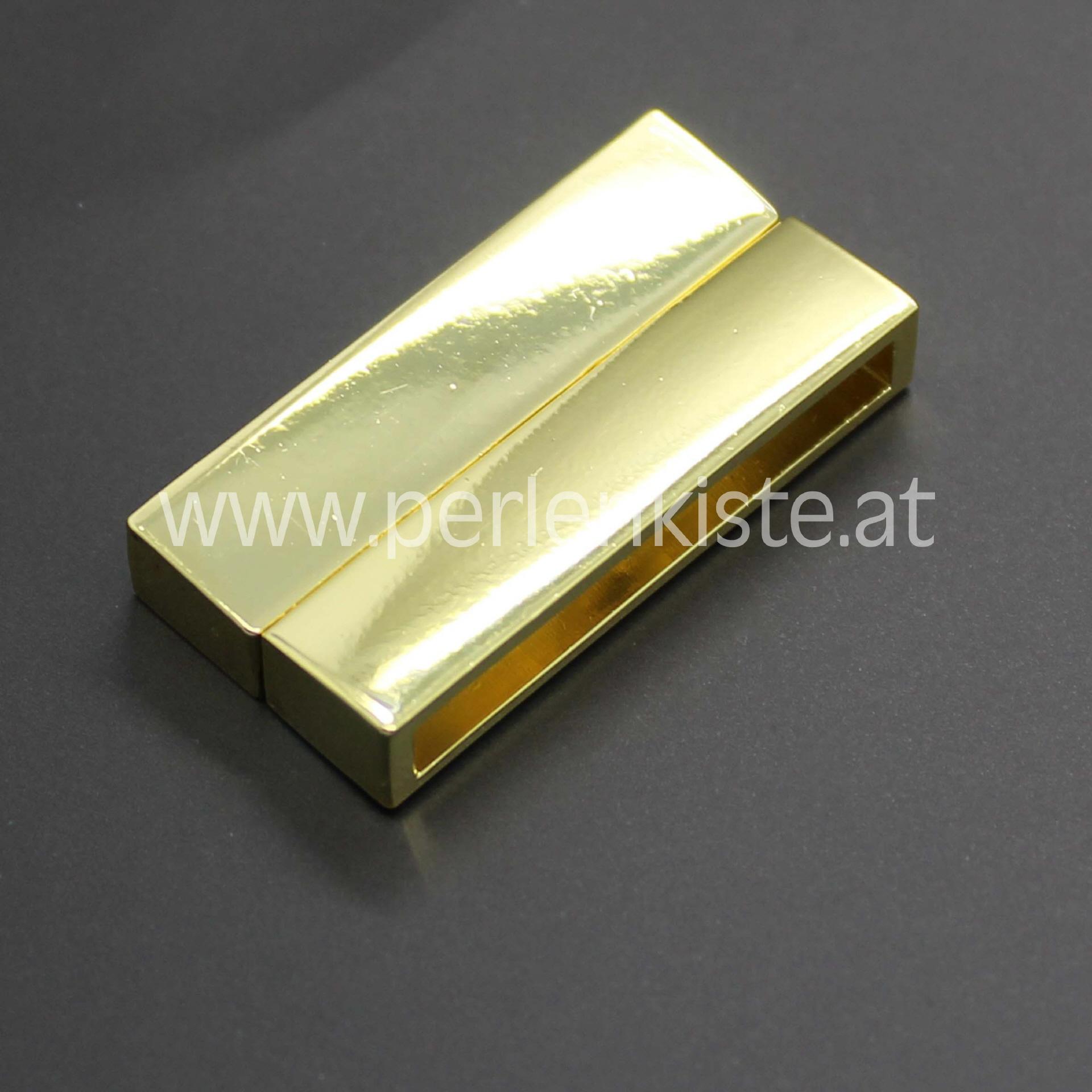 magnetverschluss 38 mm gold zum kleben. Black Bedroom Furniture Sets. Home Design Ideas