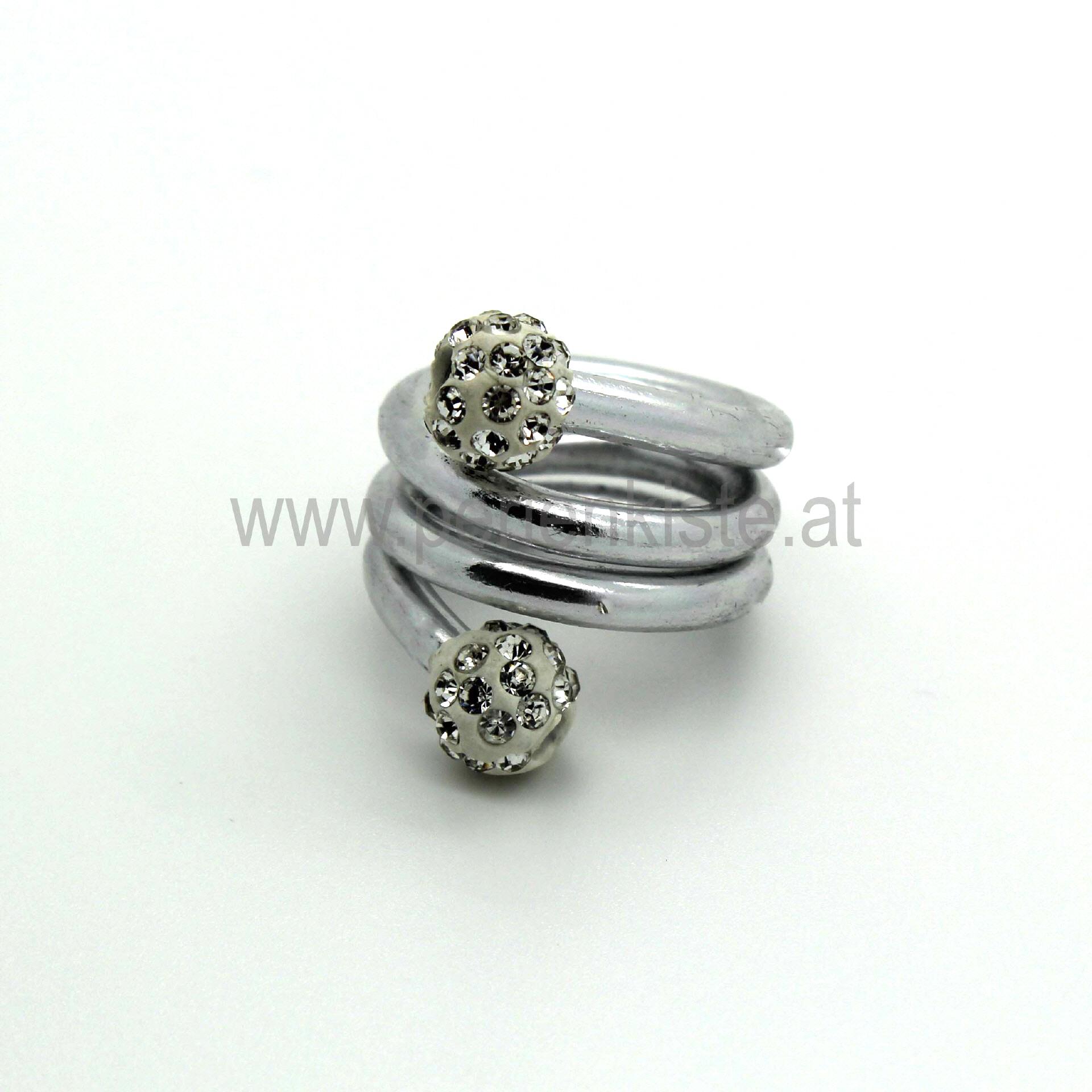 Alu Draht 2,5 mm Silber